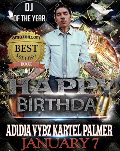 <strong>Happy Earth Strong Adidja Vybz Kartel Palmer #AdidjaPalmerDay</strong>