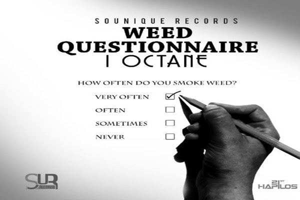 I-OCTANE WEED QUESTIONNARIE & NEW EP – JULY 2013