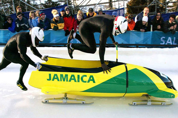 "JAMAICAN TEAM ""COOL RUNNINGS"" AT SOCHI WINTER OLYMPICS"