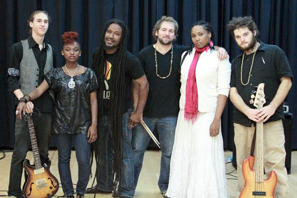 Jahfe Miami Reggae Band free show Wailers aug 2012