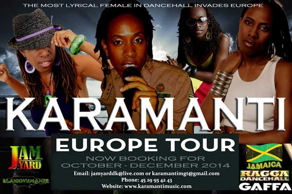KARAMANTI KICKS OFF EUROPE TOUR ON NOVEMBER 1ST