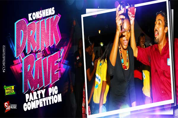 KONSHENS DRINK 'N' RAVE PARTY PIC COMPETITION – JAN 2013