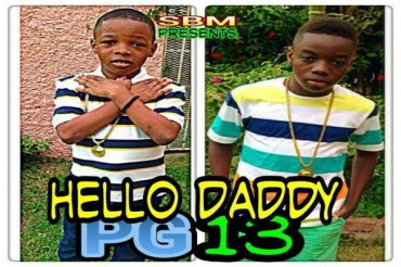 SHORT BOSS MUZIK PRESENTS LITTLE ADDI & LITTLE VYBZ – HALLO DADDY – JUNE 2014