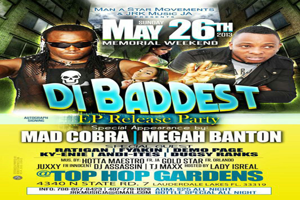 SOUTH FLORIDA MEMORIAL DAY WEEKEND UPCOMING EVENTS 2013