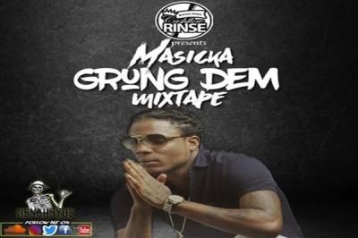 <strong>Download Dj CashFlow Rinse &#8220;Masicka: Grung Dem&#8221; Free Jamaican Dancehall Mixtape 2018</strong>