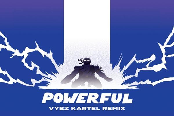 Major Lazer Feat .Ellie Goulding Tarrus Riley Powerful Vybz Kartel Remix