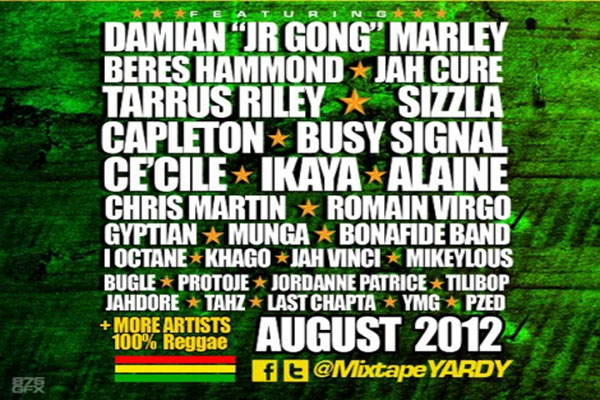 MixtapeYARDY Buss A Blank Vol 4 Reggae Mix download august 2012