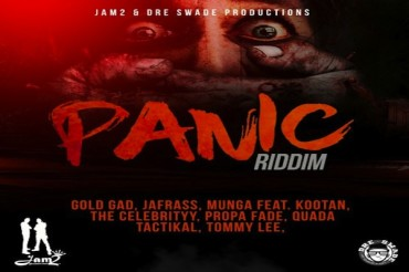 <strong>Listen To Panic Riddim Mix: Tommy Lee Sparta, Popcaan, Munga Jam2 &#038; Dre Swade Productions</strong>