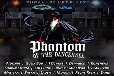 LISTEN TO PHANTOM OF THE DANCEHALL – UPT RECORDS – JAN 2016