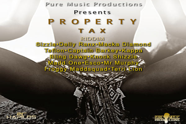 <strong>Listen to Property Tax Riddim &#8211; Pure Music Productions -[Dancehall Reggae Music 2103]</strong>