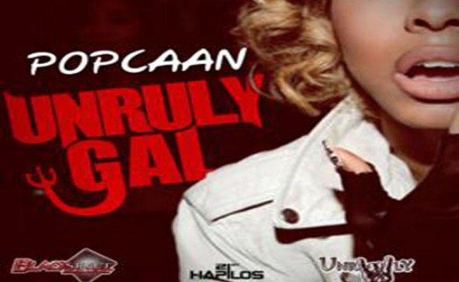 Popcaan Unruly Gal black street music march 2013