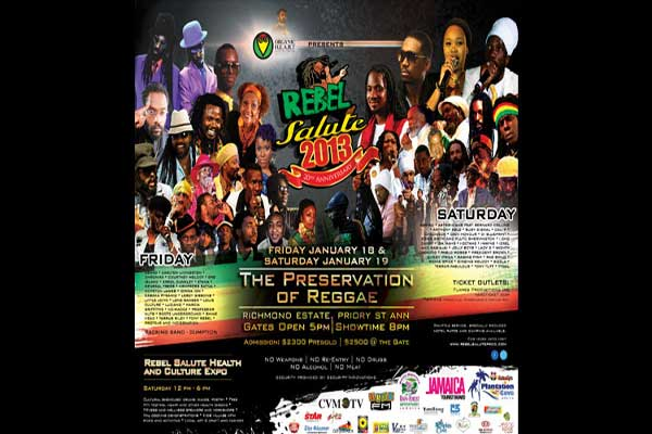 JAMAICA REBEL SALUTE 2013 – THE PRESERVATION OF REGGAE