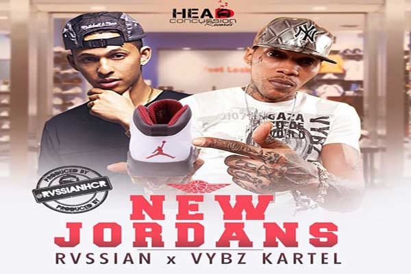 Rvssian Vybz Kartel – New Jordans – Head Concussion Records – Dec 2014