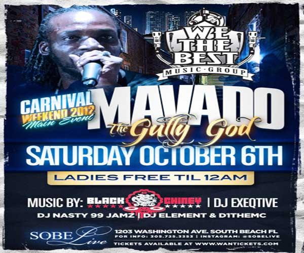 Best Parties – Miami Carnival Weekend 2012