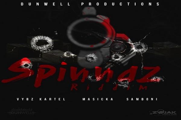 Listen To Spinnaz Riddim Vybz Kartel, Masicka Dunwell Production