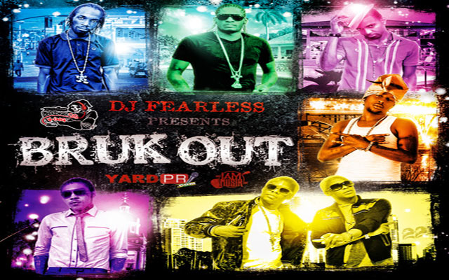 DOWNLOAD DJ FEARLESS BRUK OUT DANCE HALL MIXTAPE