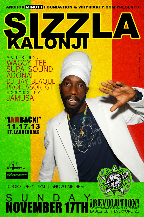 "SIZZLA KALONJI ""GOOD LOVE"" OFFICIAL MUSIC VIDEO & SIZZLA LIVE SHOW IN SOUTH FLORIDA"