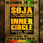 Soja & INNER CIRCLE LIVE IN FORT LAUDERDALE DEC 29 2012