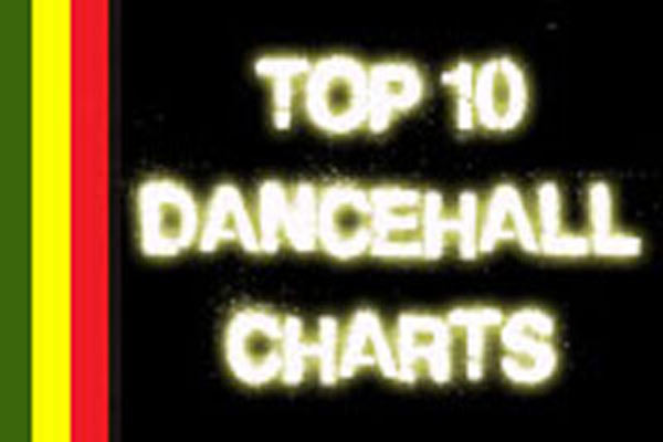 TOP 10 DANCEHALL SINGLES JAMAICAN CHARTS AUGUST 2013