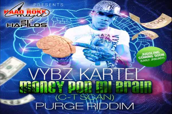 <strong>LISTEN TO VYBZ KARTEL ADDI INNOCENT &#8211; MONEY PON MY BRAIN (C-T SCAN) &#8211; HAAD ROKK MUZIK &#8211; DEC 2014</strong>