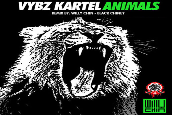 VYBZ KARTEL ADDI INNOCENT -ANIMALS -WILLY CHIN – BLACK CHINEY REMIX – MAY 2014