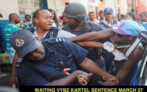 VYBZ KARTEL SENTENCE SCHEDULED FOR MARCH 27 2014