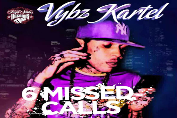 <strong>Vybz Kartel Aka Addi Innocent &#8211; 6 Missed Calls &#8211; Stakes Records &#8211; Sept 2014</strong>