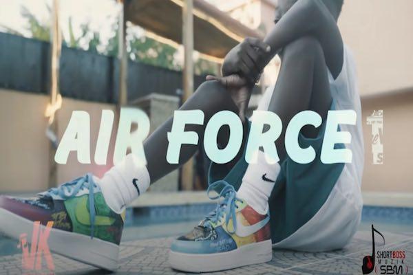Vybz Kartel likkle addi likkle vybz aikodon nae finesse airforce 1 music video 2021