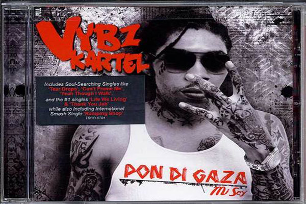 Vybz Kartel's Album – Pon Di Gaza Mi Sey – Drafted For Grammy Awards 2013