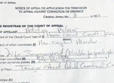 Vybz Kartel appeal documents-april 2014
