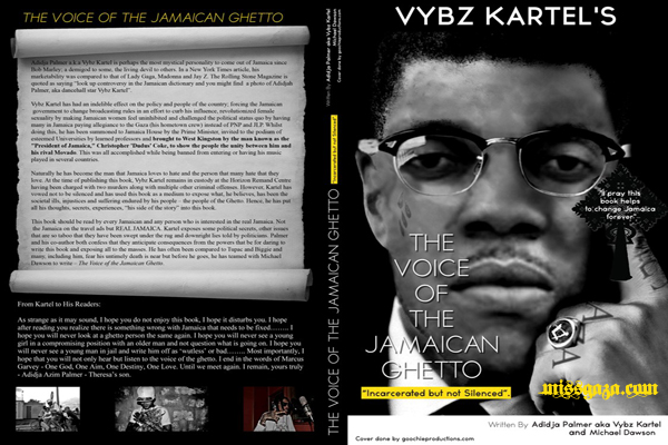 NEW STATEMENT FROM ADIDJAH VYBZ KARTEL PALMER ON HIS BOOK
