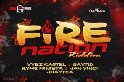 LISTEN TO VYBZ KARTEL NEW SONG -BLACK PEOPLE/ FIRE NATION -FIRE NATION RIDDIM