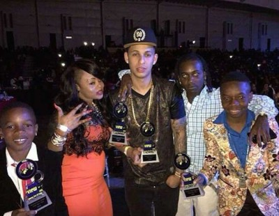 VYBZ KARTEL TAKES 4 AWARDS AT YVA 2015