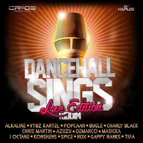 Vybz kartel Dancehall sings love edition zj chrome CR203 Record Feb 2015
