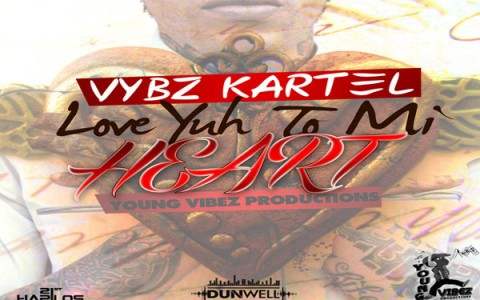 Vybz Kartel Love Yuh To Mi Heart-Young Vibes Dec 2012
