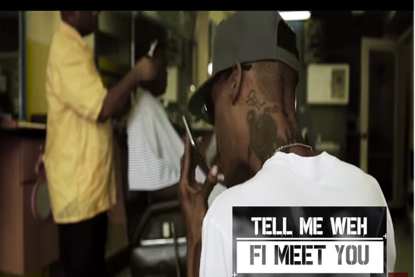 Yrush Vybz Kartel-tell-me-weh-fi-meet-you-music-video-2017