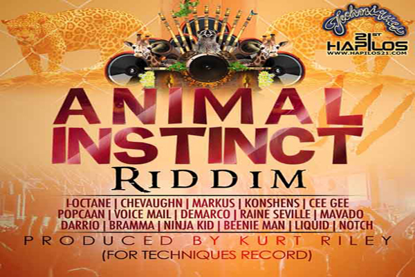 <strong>Download Animal Instinct Riddim &#8211; Techniques Records &#8211; [Reggae Dancehall 2013]</strong>