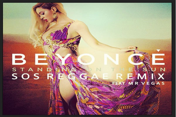 <strong>Listen To Beyonce &#038; Mr Vegas &#8211; Standing On The Sun [Remix]- August 2013</strong>