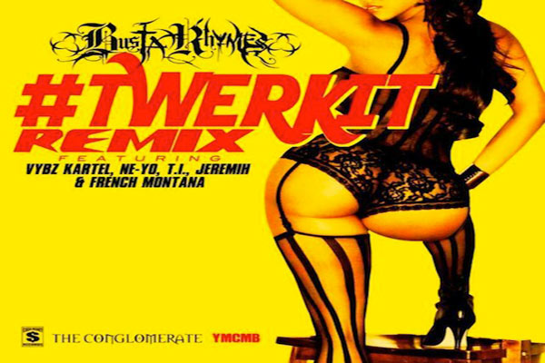 <strong>Busta Rhymes Featuring Vybz Kartel  Twerk It Remix</strong>