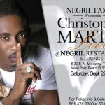 christopher martin live sat 22 sept west palm negril family