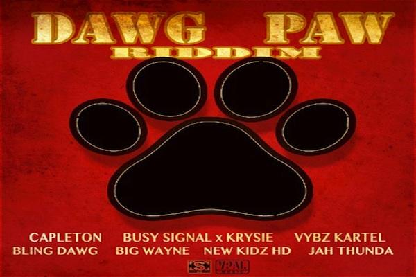 "Listen To ""Dawg Paw Riddim Mix"" Vybz Kartel, Bounty Killer"