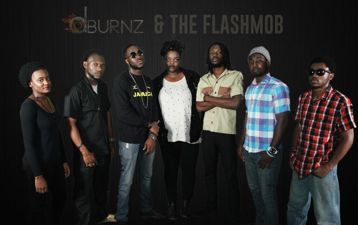 dburnz & the flash mob forc onverse rubber tracks studio