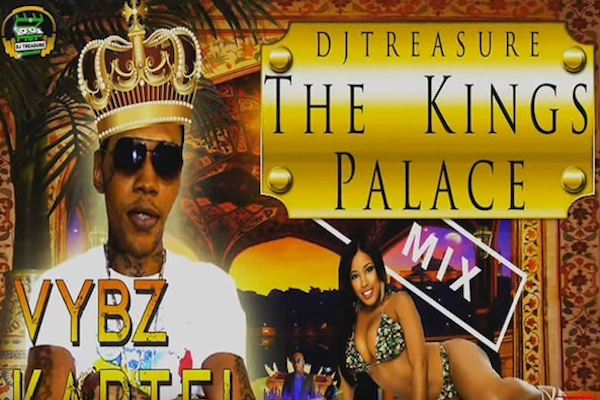 dj treasure kings palace vybz kartel clean mixtape 2020