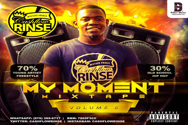 <strong>Download Cashflow Rinse My Moment Vol 6 Mixtape</strong>