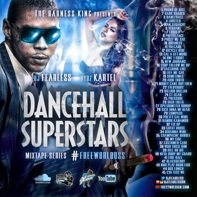 dj fearless dancehall superstars mixtape-vybzkartel-sept 2015