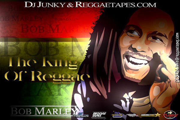 DJ JUNKY BOB MARLEY THE KING OF REGGAE MIXTAPE