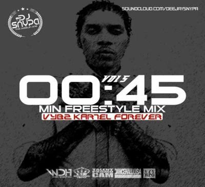 Stream Dj Snypa – 45 Min Freestyle Mix – Vybz Kartel Forever