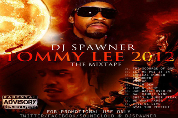 Listen Or Download Dj Spawner – Tommy Lee Mixtape – Sept 2012