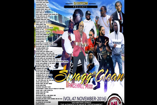 download-dj-dotcom-Swag-&-Clean-Dancehall-mixtape-nov-2016