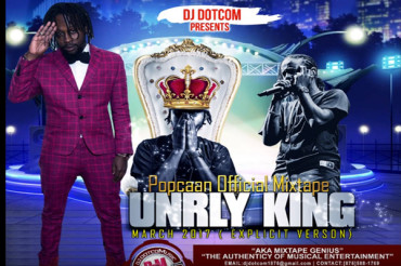 <strong>Dj DotCom Presents Popcaan Unruly King Official Mixtape 2017</strong>